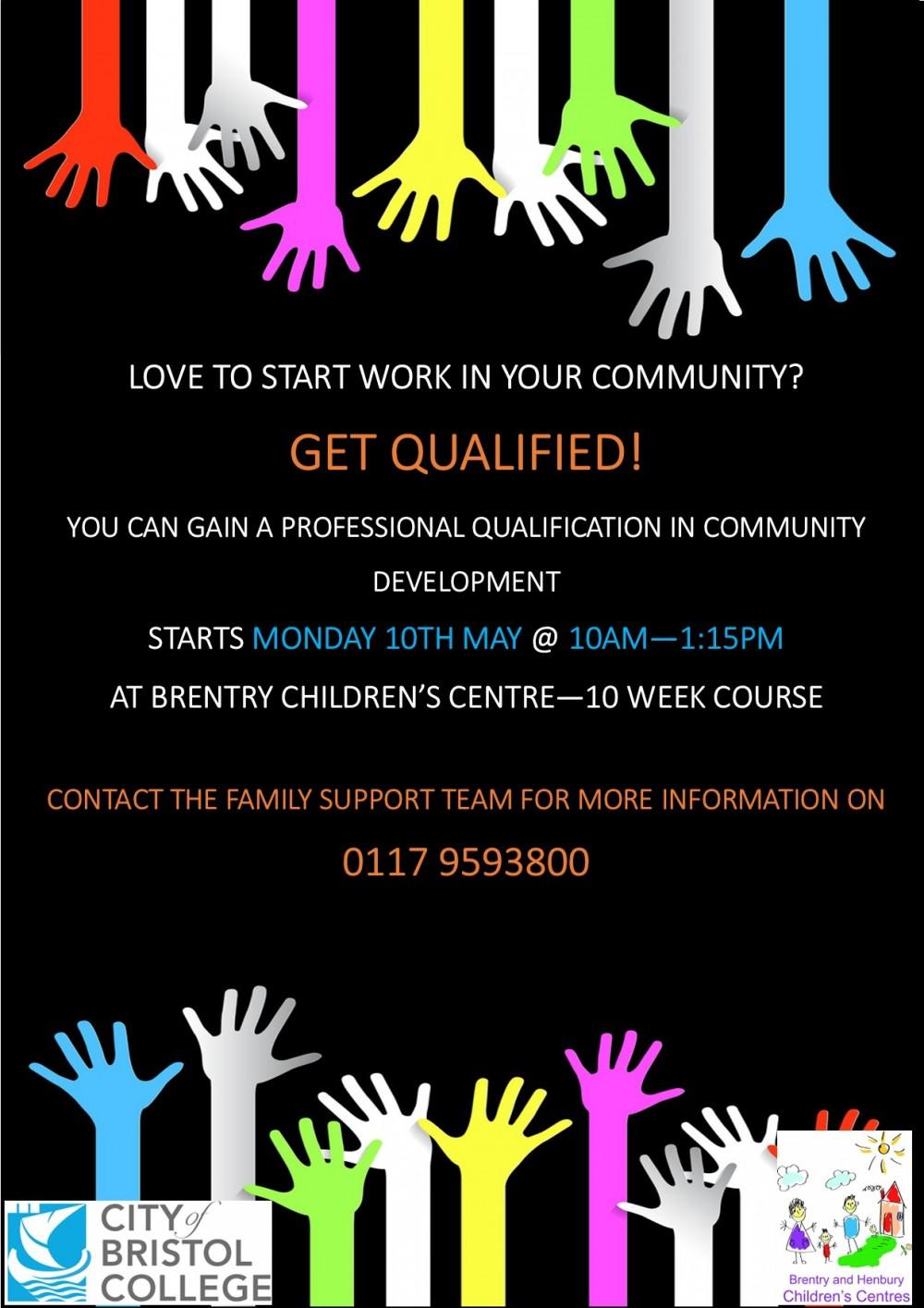 Community Development Course Poster 2021